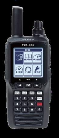 YAESU FTA-450L, 8.33kHz Flugfunkgerät