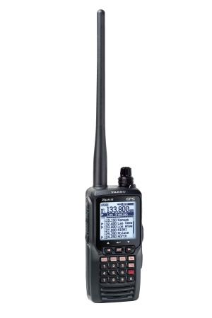 Yaesu FTA-750L 8.33 kHz Handfunkgerät mit GPS, VOR, ILS