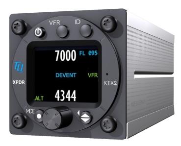 KTX2-S.V2 Transponder von TQ-Avionics