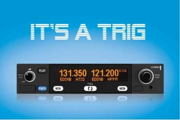 TY 96 von TRIG Avionics, 8.33 kHz Flugfunkgerät