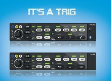 TMA 44 von TRIG Avionics, Audiopanel