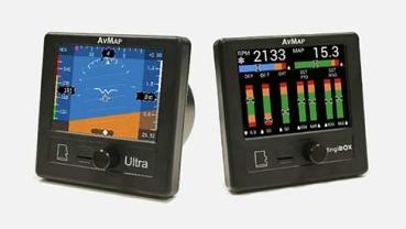 Set: AvMap Ultra EFIS + EngiBOX