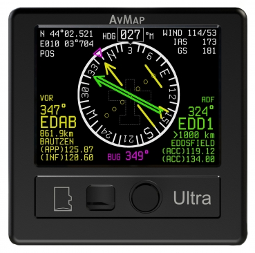 Set: AvMap Ultra EFIS + EngiBOX